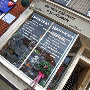 Paynes Printers & Staioners Shop
