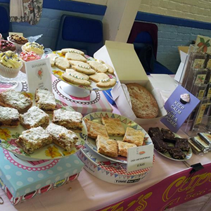 Baked goods at Acle Farmers' Market