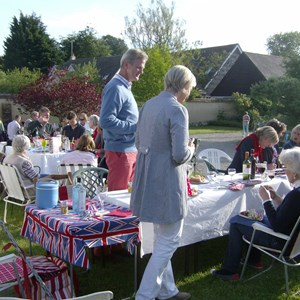 Berwick St James Parish Queen's Diamond Jubilee Party 2012