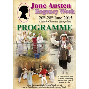 2015 Jane Austen Regency Week Programme