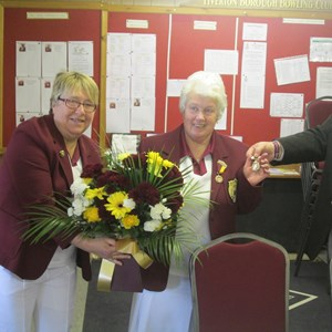 Life membership warded to Margaret