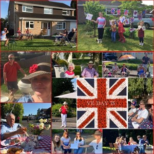 Oakley Community Association VE Day, 8 May 2020