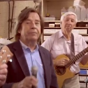John Paul Young and the Raymond Terrace Men's Shed Band