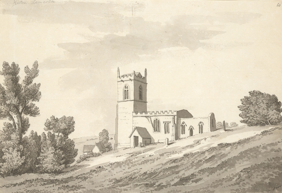 Kirton Church by Samuel Grimm