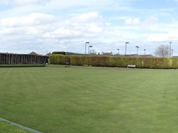 panoramic View of green preseason