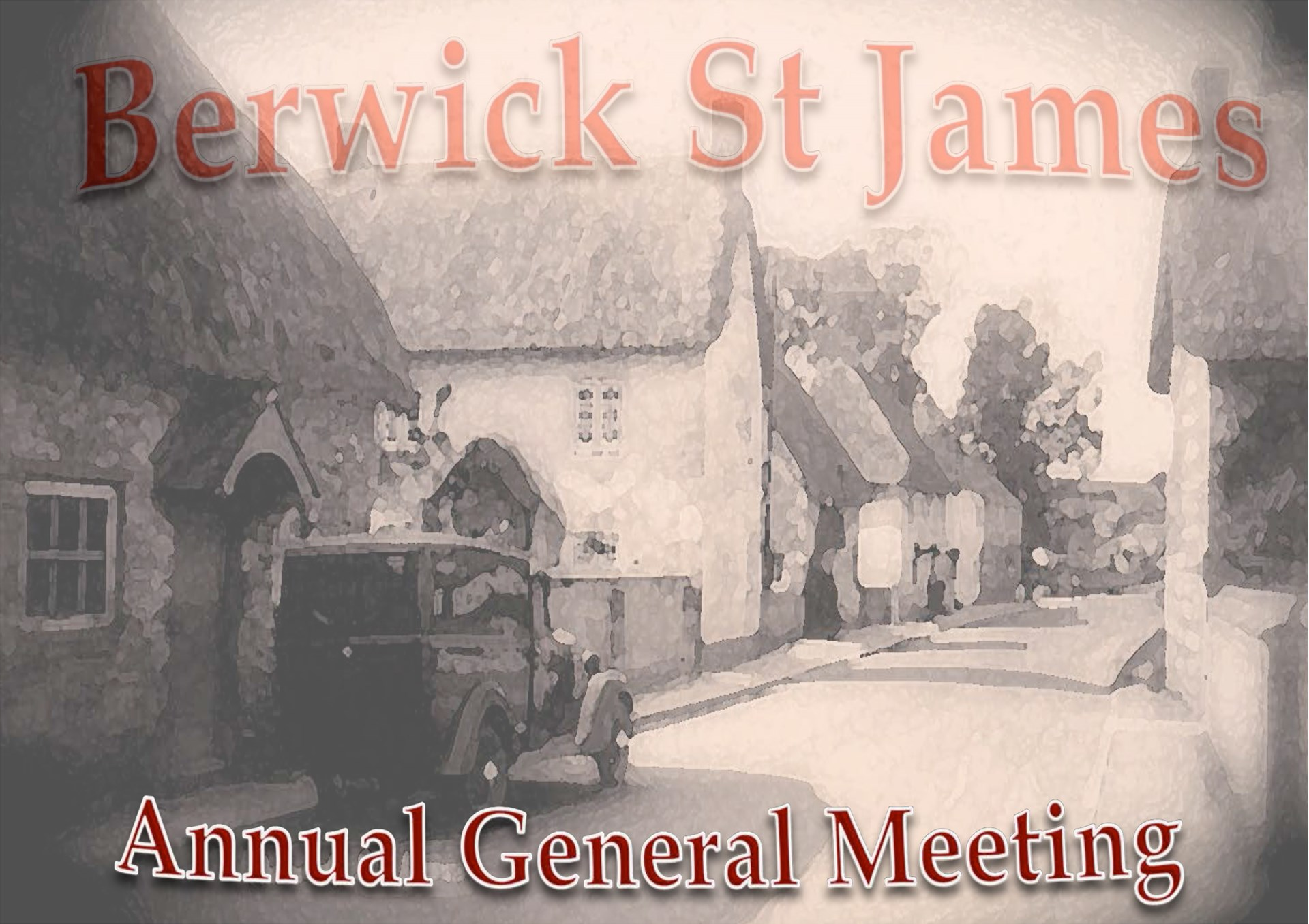 Berwick St James Parish Community Village AGM - 8 May '17