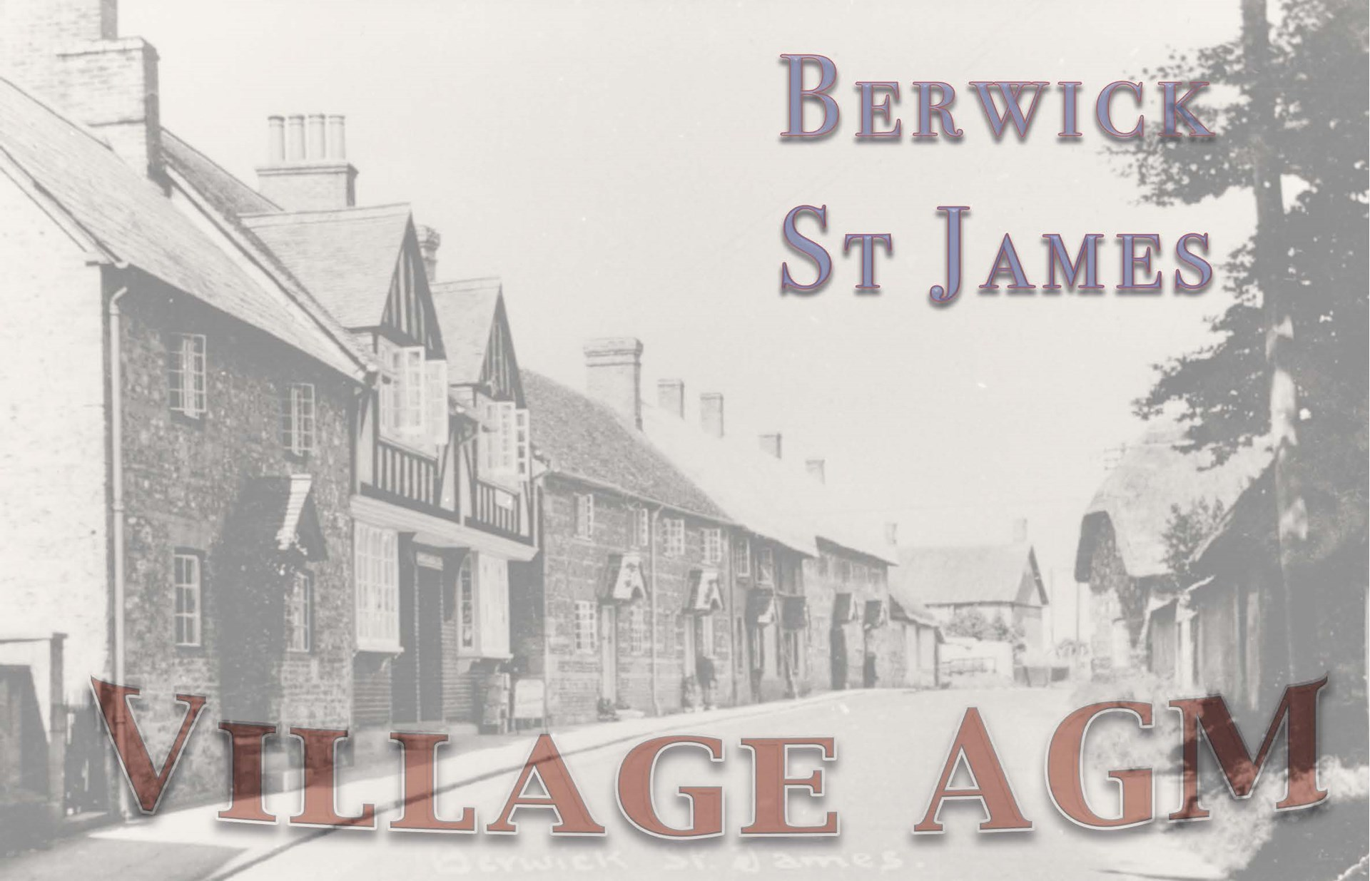 Berwick St James Parish Village AGM - 20 May '13
