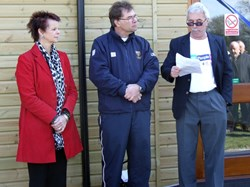 Ann Milton MP opens new changing rooms
