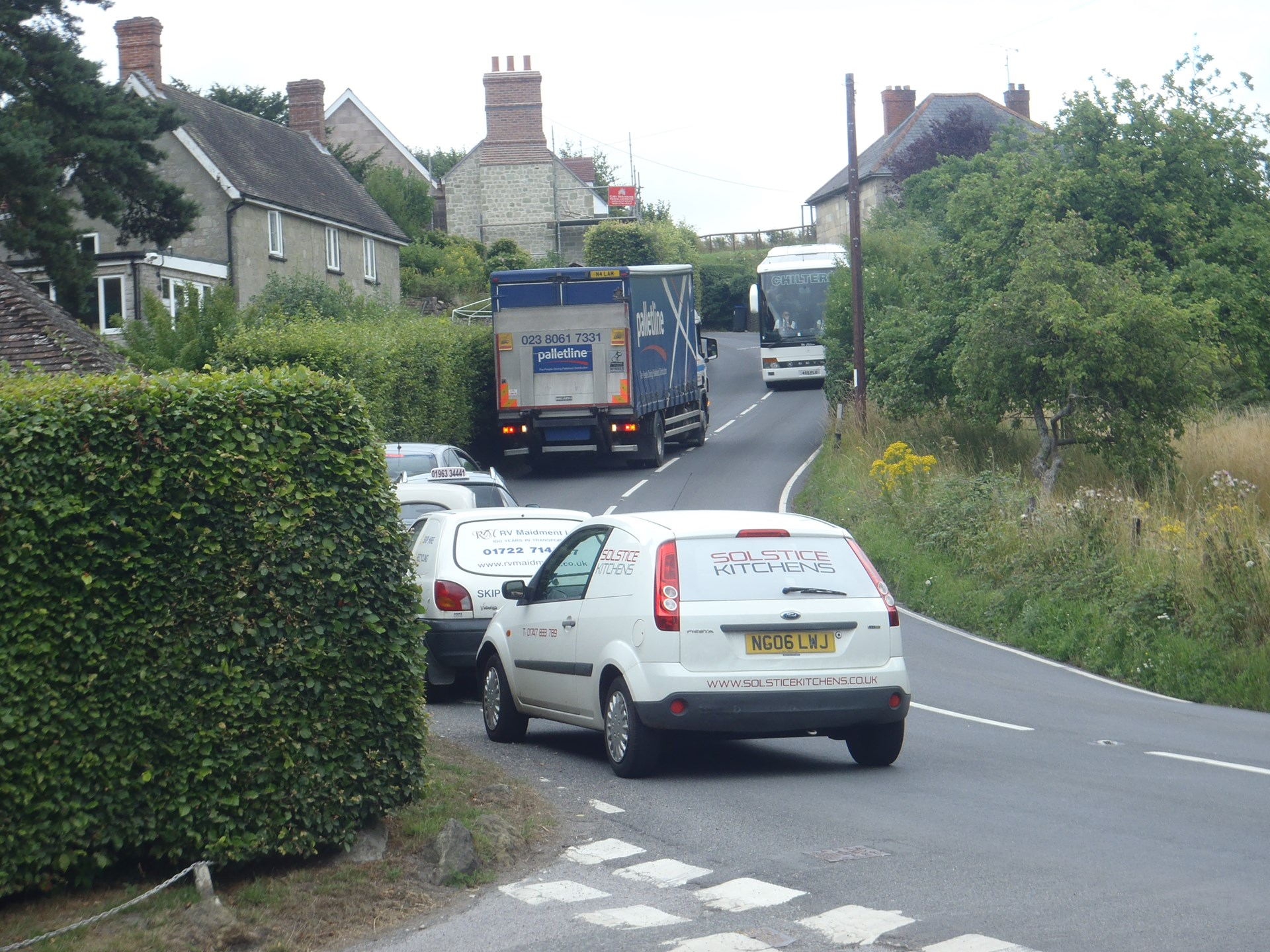 Donhead St Andrew Parish Council Brook Hill Traffic Problems