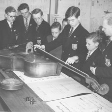 A Science Lesson at John Hunt Boys School circa 1960