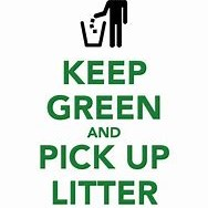 Pick Up Litter Sign