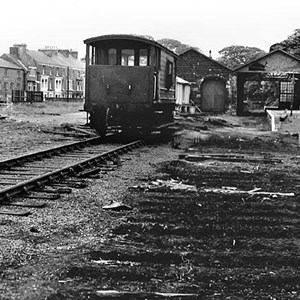 Guisborough Railway Station Track Lifting 1965