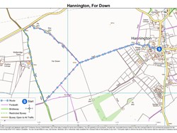 Hannington, For Down Walk