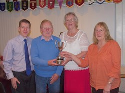 Warner Cup - Paul Brown, Dennis Crowe, Michelle Bassett & John Whinney (abs.)