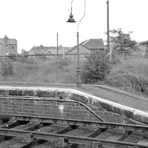 Guisborough Railway Station Platform End 1965