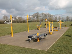 Fleckney Sports Centre Basketball Court & Outdoor Gym