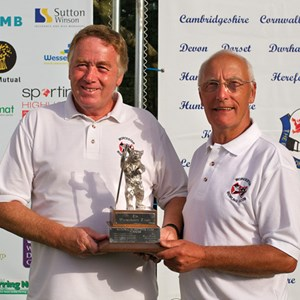 Men's National Over 55's Pairs Champions 2012