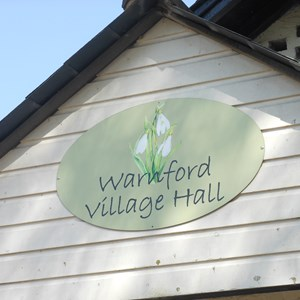 Village Hall, Warnford Village
