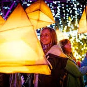 Sunday Lantern Parade in Westerham