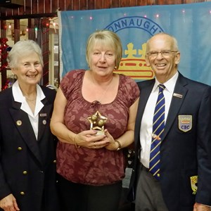 Pat Benefer & (Pam Smith) Ladies Pairs Runners Up 2016