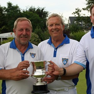 Nigel Holt, Graham Walford, Colin Vinter, Simon Toop. Essex County Fors winners 2016