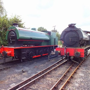 WD200 (Hunslet Austerity 0-6-0ST)