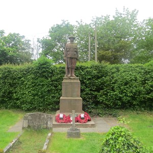 War Memorial Stokesy Church