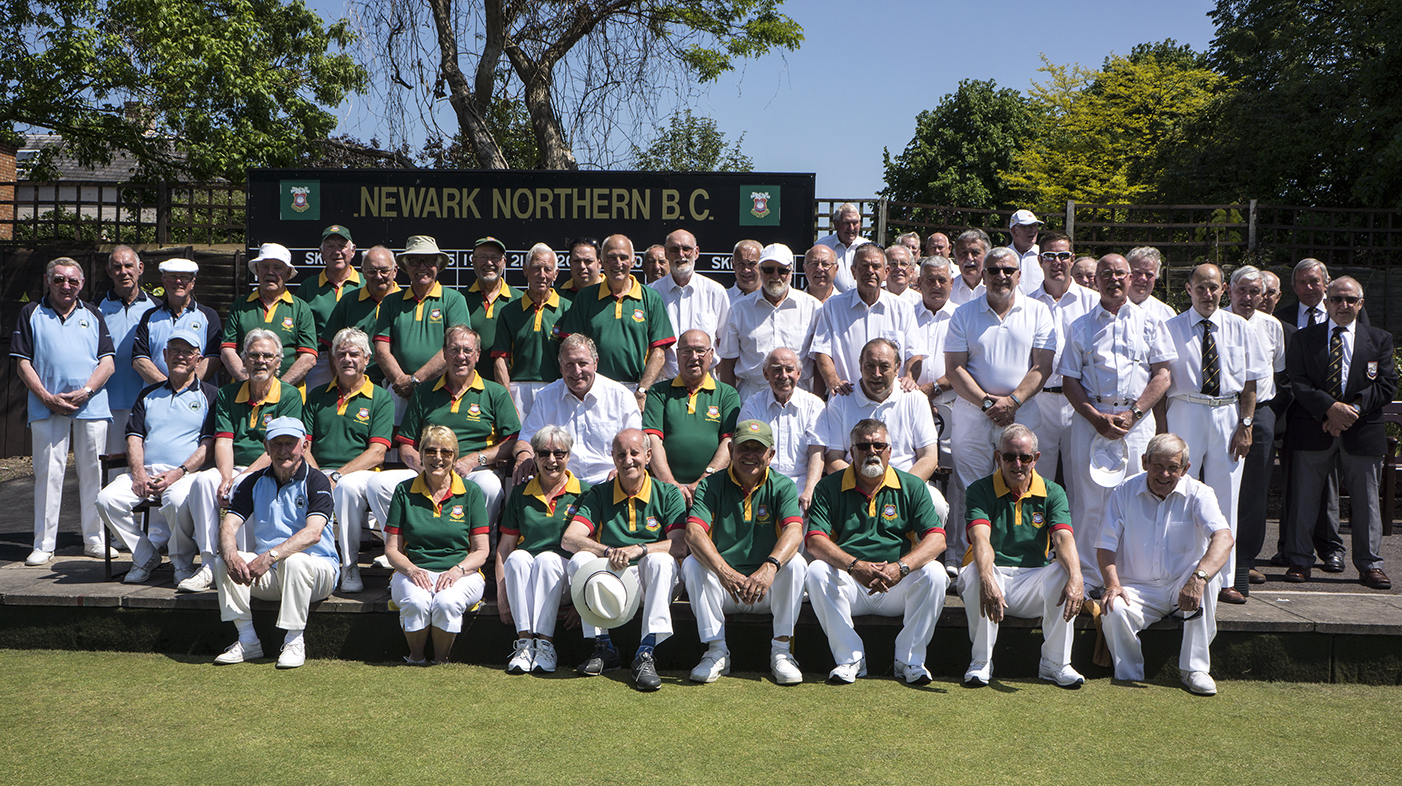 Newark Northern Bowls Club 6.6.16 Match against Welsh Touring Team