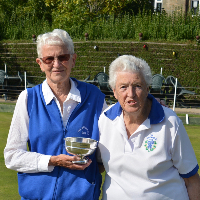 Ladies Pairs-Jan Walby and Shirley Morrissey