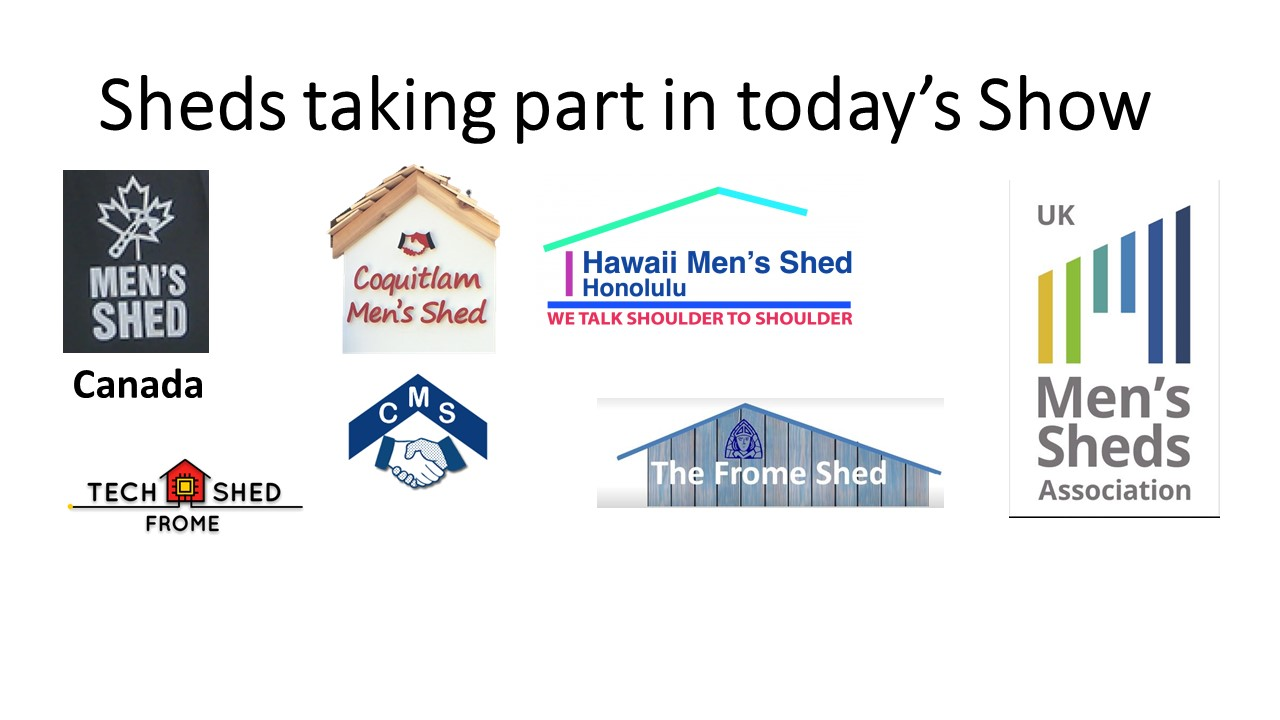 'Shed Happens' - Even if you're self isolating #10-3 - 25th November 2020(UK Shed Show)