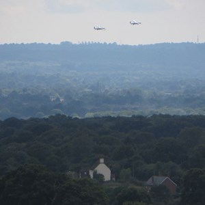 Boughton Malherbe Parish Council Lancasters, Spitfire and Hurricane