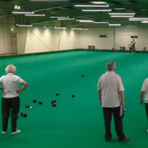 Bowls Coaching, Rushmoor Indoor Bowling Club