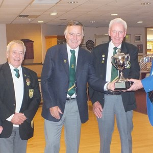 Vice Presidents Cup Winners - Plymouth Keith Griffiths, Keith Young, Neville Ring , Peter Carlyle and Gordon Thomas