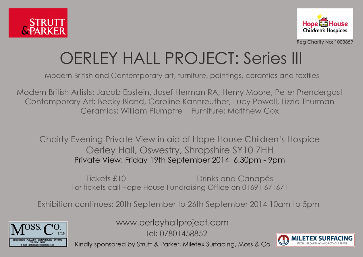 OH Project Series III Invitation Card