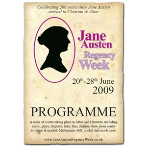 2009 Jane Austen Regency Week Programme
