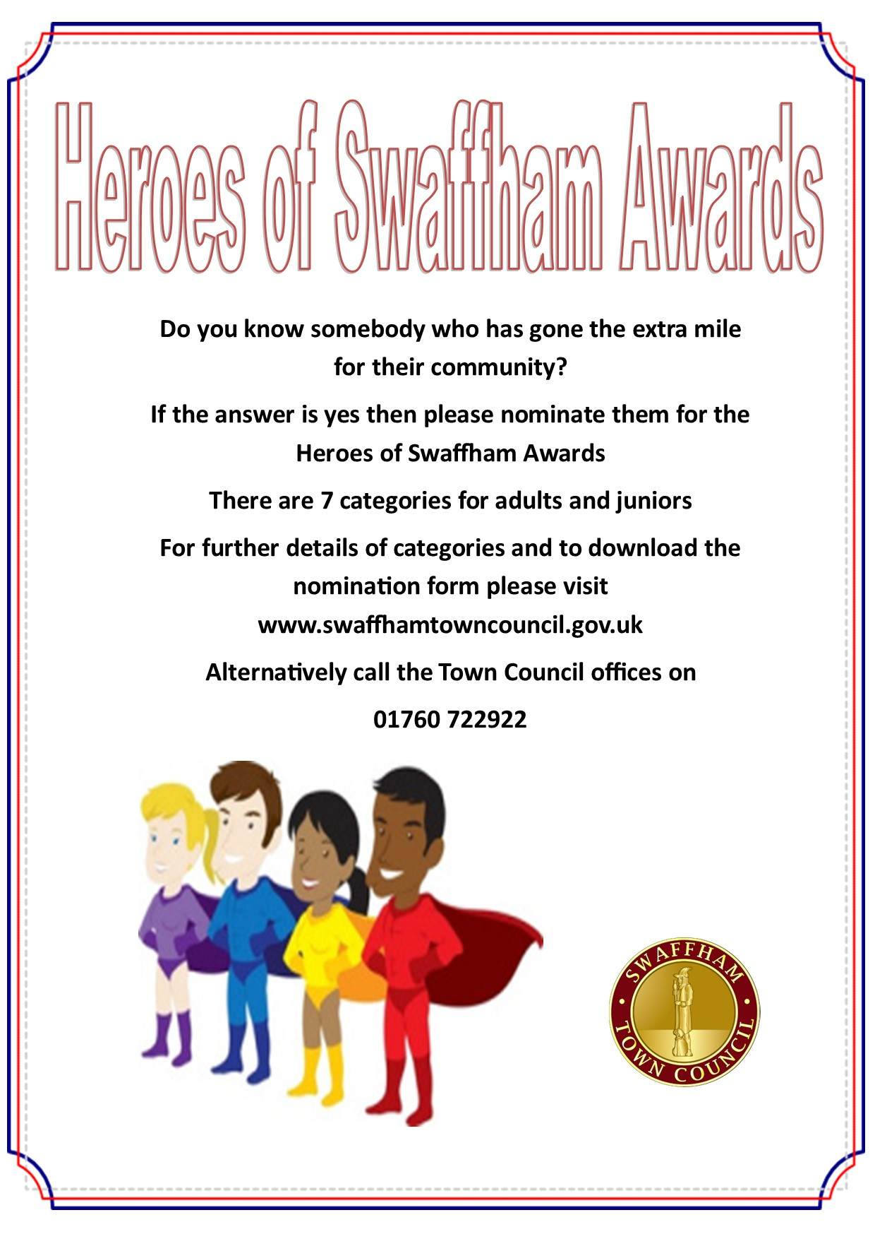 Swaffham Town Council Swaffham Heroes