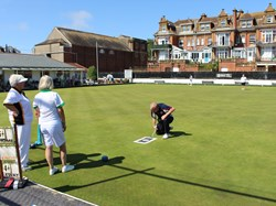 Bovey Tracey Bowling Club Ladies Unbadged Singles Q/F and S/F