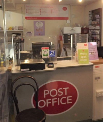 Post Office Counter