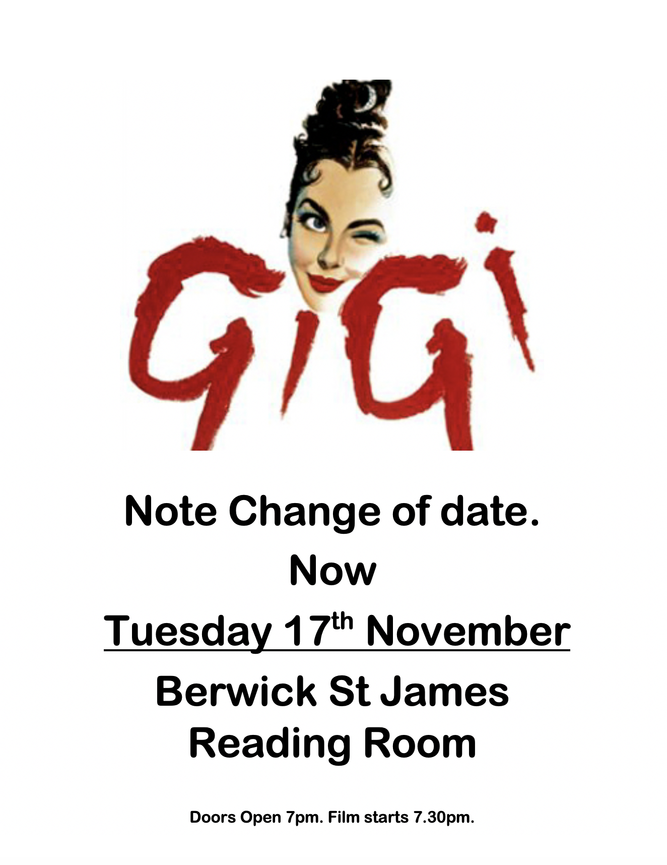 Berwick St James Parish Gigi