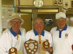 2011 Ian Miller Trophy Winners - Don Jordan & Dave Christmas
