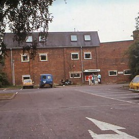 The front of the centre in 1986
