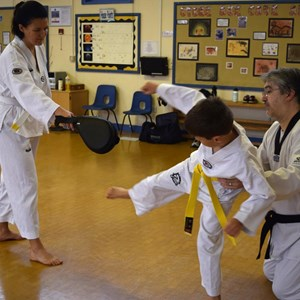 Overton and Basingstoke Taekwondo Club Our Black Belts
