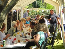 Mentmore Parish Council 2012 BBQ