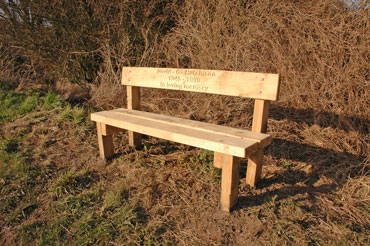Bench 2: Spout Lane, Little Wenlock Parish Council