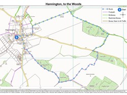 Hannington, To the Woods Walk