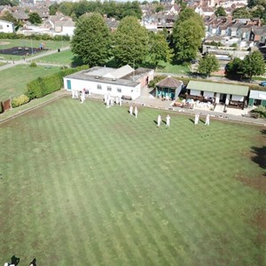 Swindon West End Bowls Club 2018 From The Air