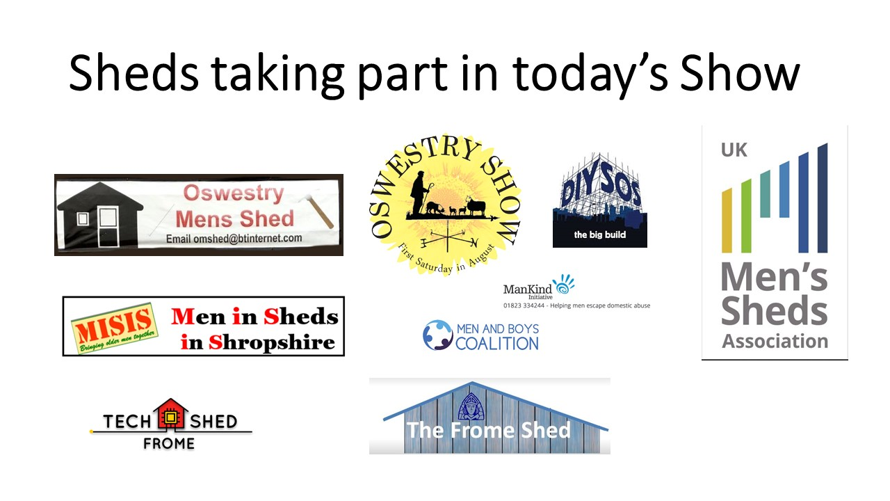 'Shed Happens' - Even if you're self isolating #10-4 - 1st  December 2020(UK Shed Show)