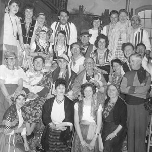 Our picture shows a happy group of fund raisers at a Romany Fayre held at Trench Methodist Chapel in October 1962. We would be interested to know if anyone recognises any of the faces.