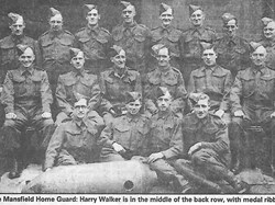 Henry Walker in the Home Guard. He served in the Boer War & WW1
