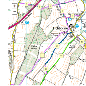 Tichborne rights of way